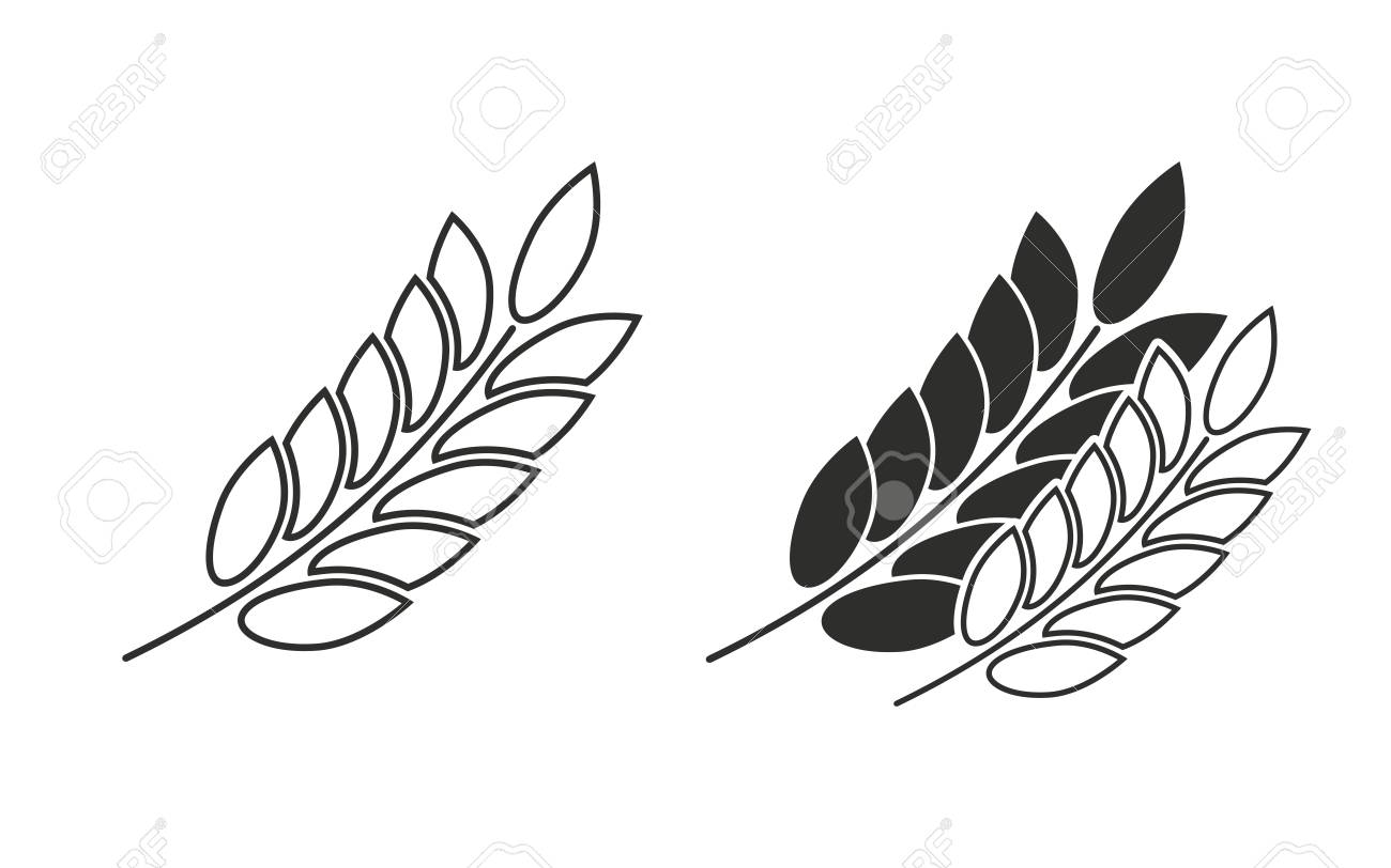 barley vector icon black illustration isolated on white background rh 123rf com barley vector art barley vector free