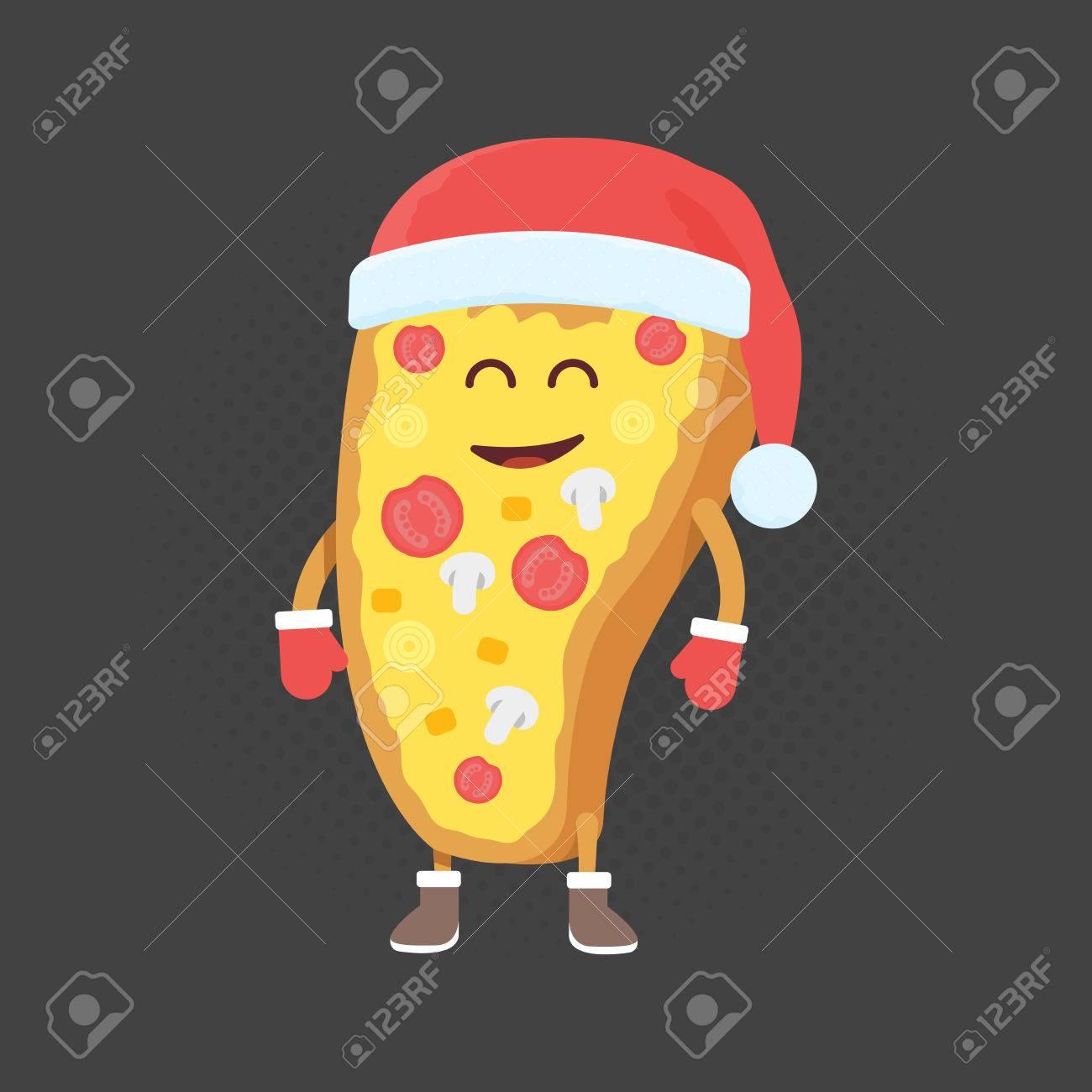 Kids Restaurant Menu Cardboard Character Christmas And New Year