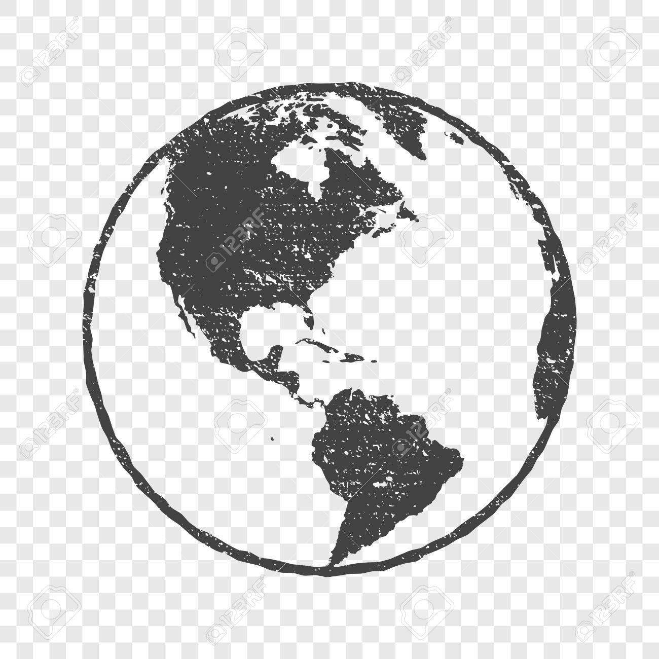 Grunge texture gray world map transparent vector illustration grunge texture gray world map transparent vector illustration stock vector 76835242 gumiabroncs Images