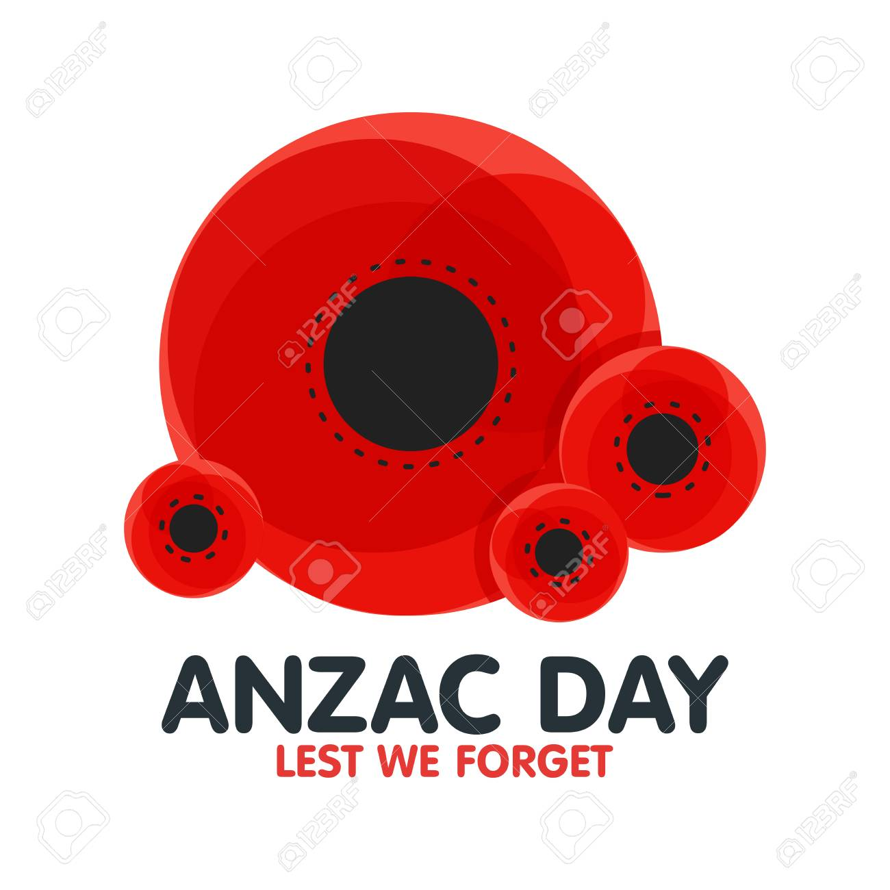 Bright poppy flower remembrance day symbol anzac day in australia bright poppy flower remembrance day symbol anzac day in australia lest we forget mightylinksfo