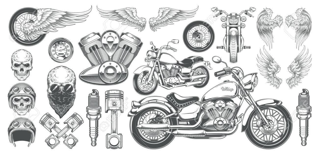 Berühmt Motorrad Grafik Vorlagen Ideen - Entry Level Resume Vorlagen ...
