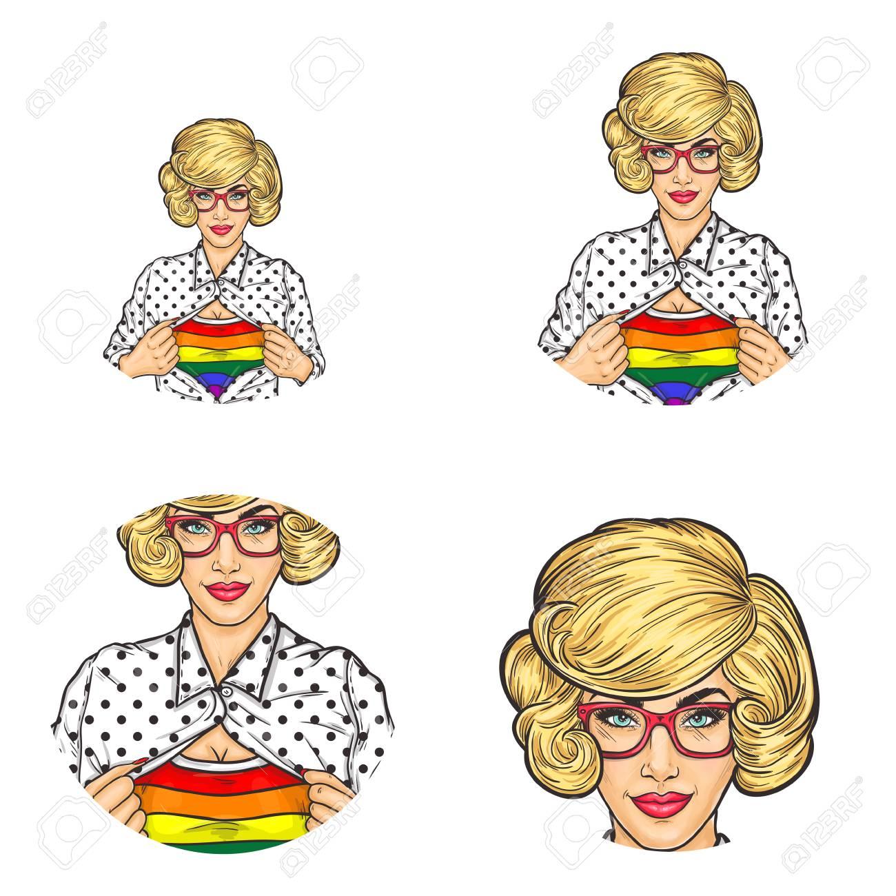 Blonde lesbians free tour — img 3