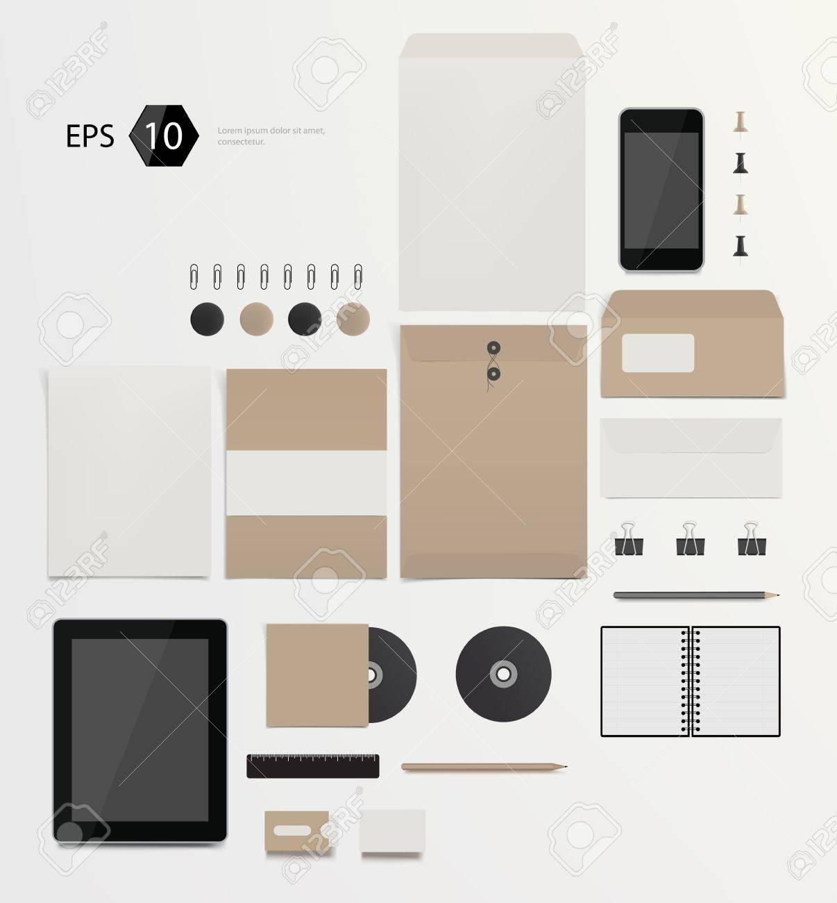 company corporate style template design Stock Vector - 21660947