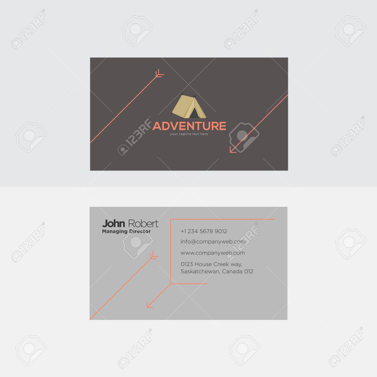 Abstract grey and orange business card royalty free cliparts abstract grey and orange business card banco de imagens 98317751 reheart Choice Image