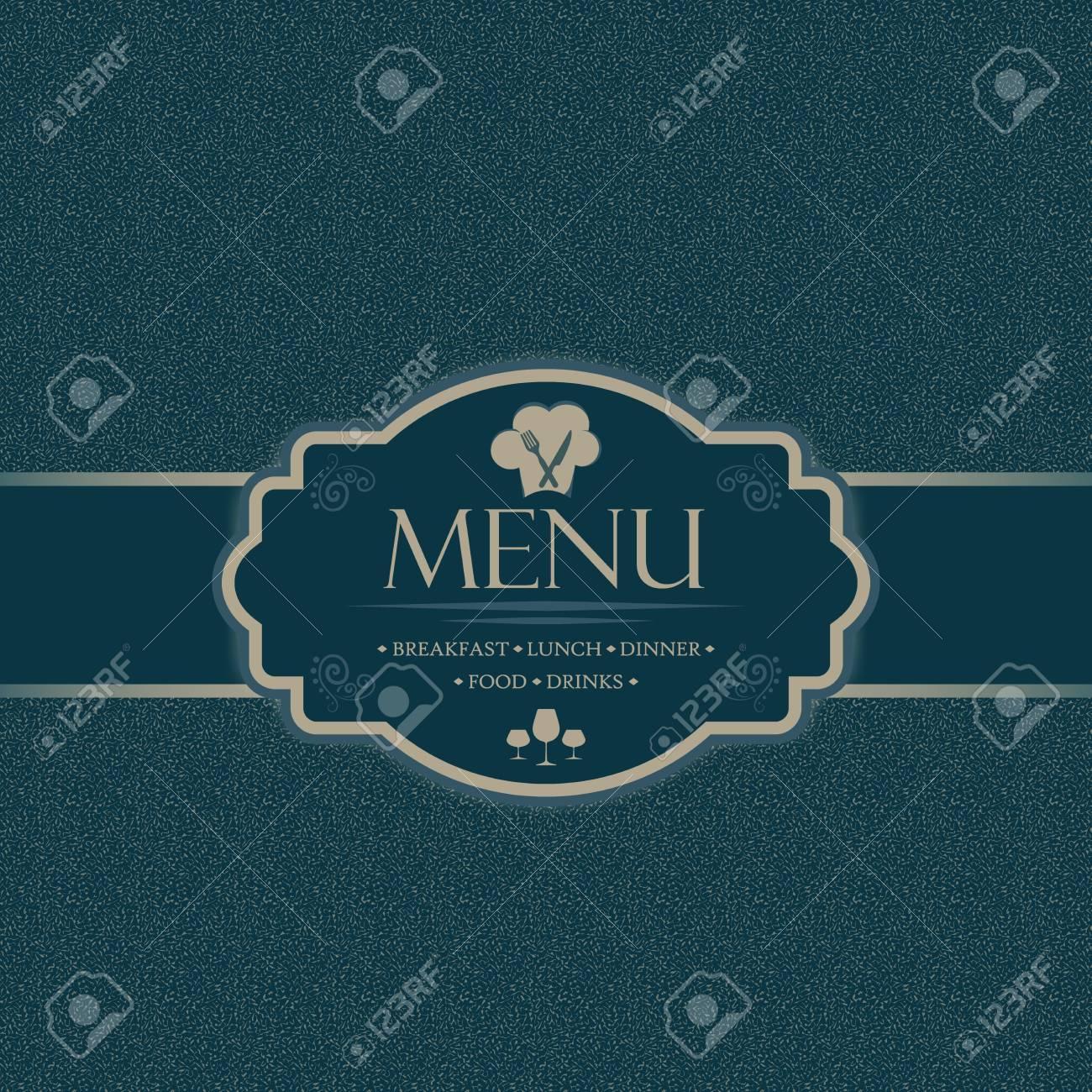 menu template for restaurants bars and beverages breakfast