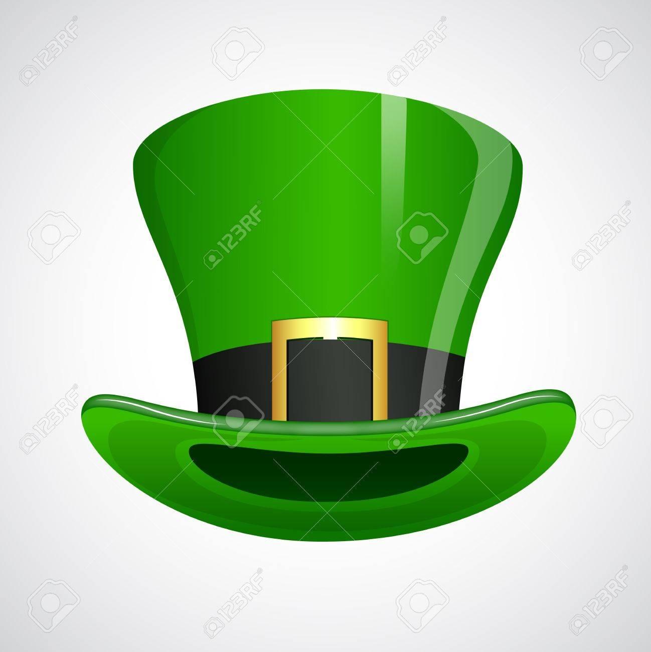 St  Patrick's Day Leprechaun Hat Stock Vector - 12655003