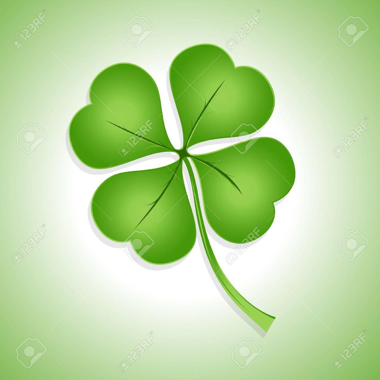 St  Patrick's Day Shamrock Stock Vector - 12654450