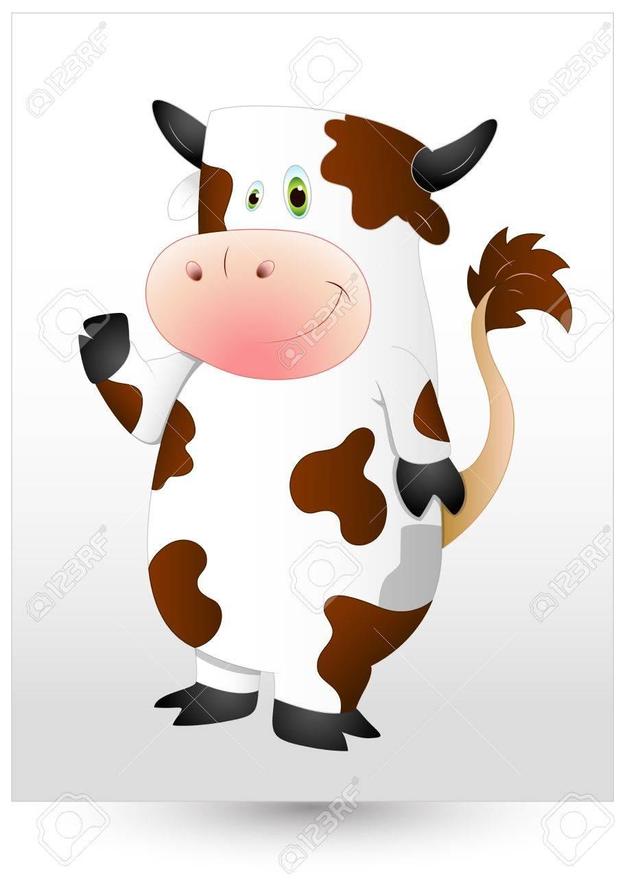 Cow Stock Vector - 12861568