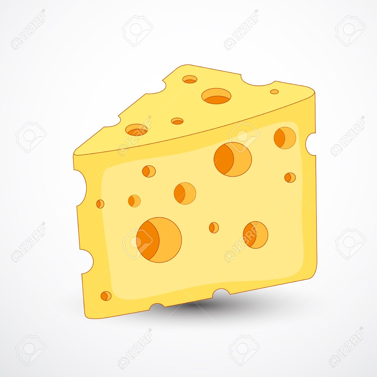 Cheese Vector Stock Vector - 12861574