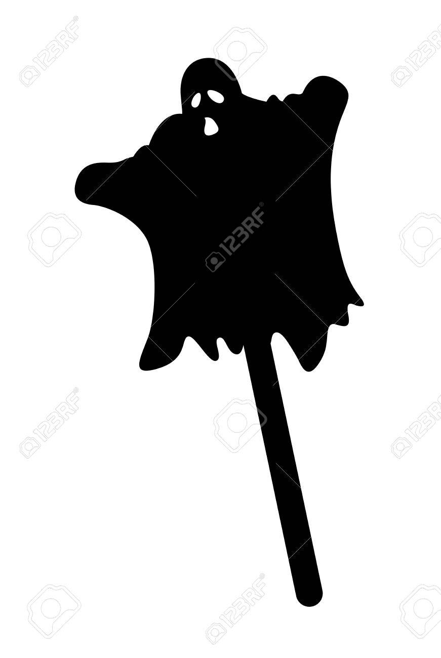 Ghost Silhouette Stock Vector - 13249639