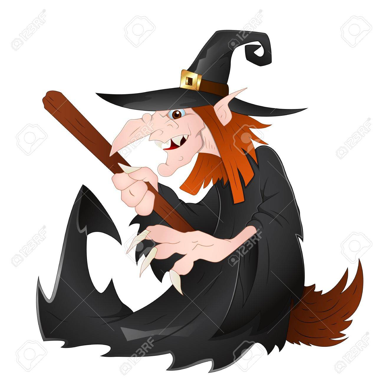Witch Stock Vector - 13276878