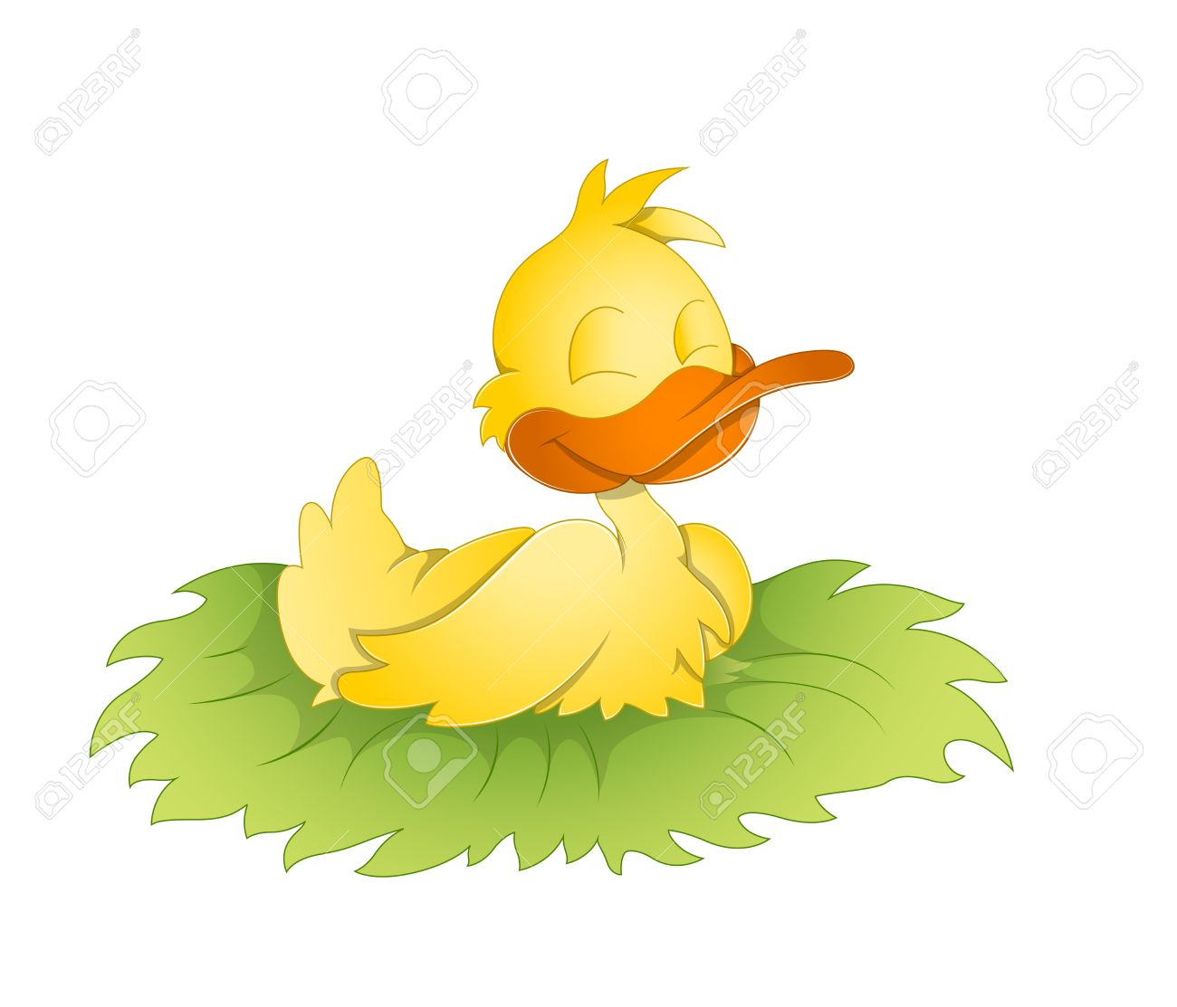 Cute Duck Royalty Free Cliparts, Vectors, And Stock Illustration ...