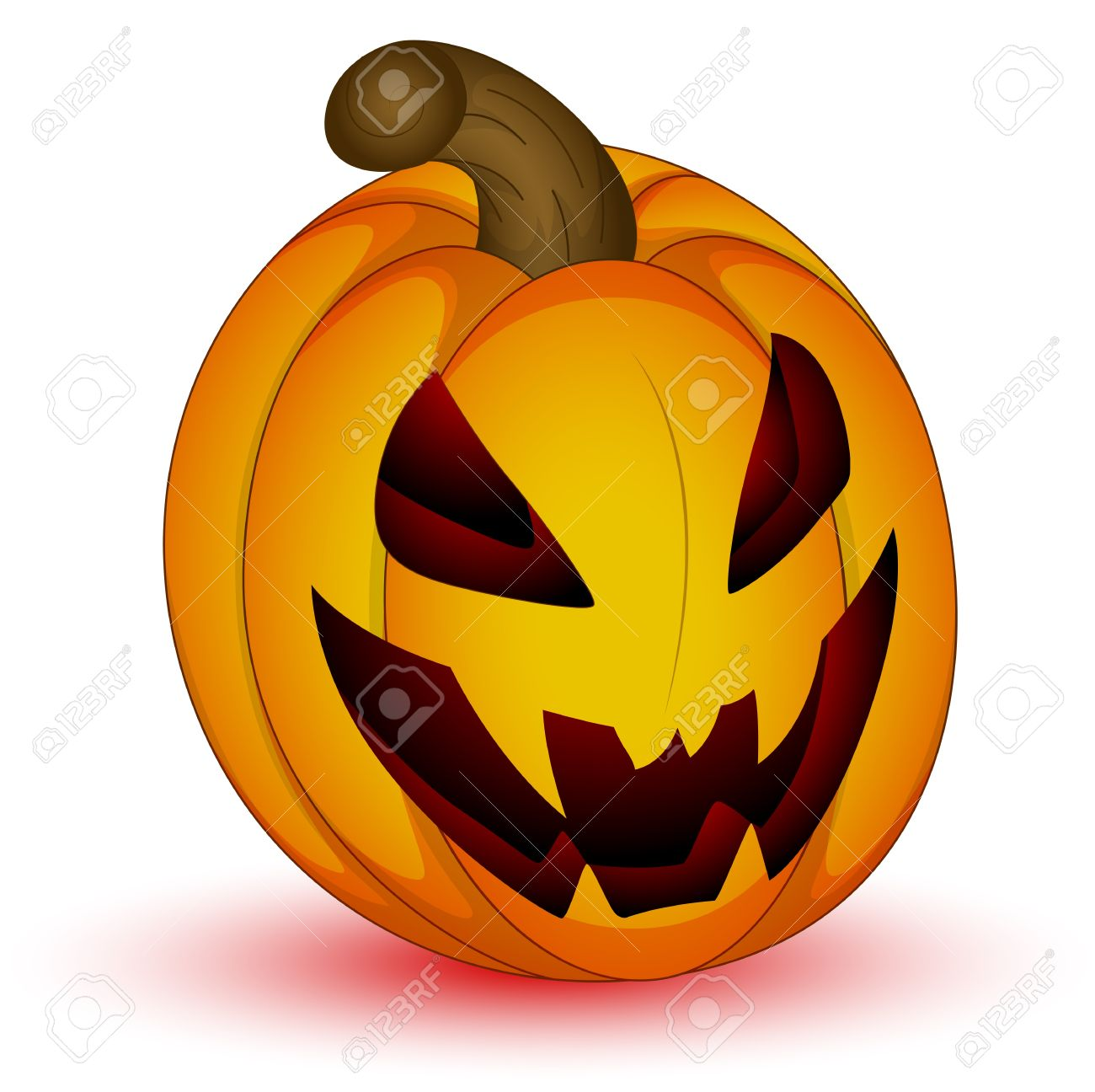 scary halloween jack o lantern royalty free cliparts vectors and