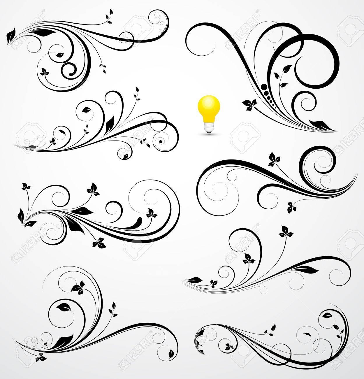 swirls vectors royalty free cliparts vectors and stock rh 123rf com swirl vector free swirl vectors png