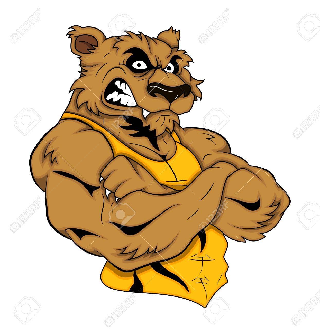 Mascot Tattoo Vector Tiger Stock Vector - 15759300