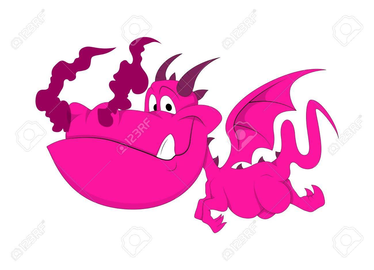 かわいいドラゴン赤ちゃんイラスト ロイヤリティフリークリップアート