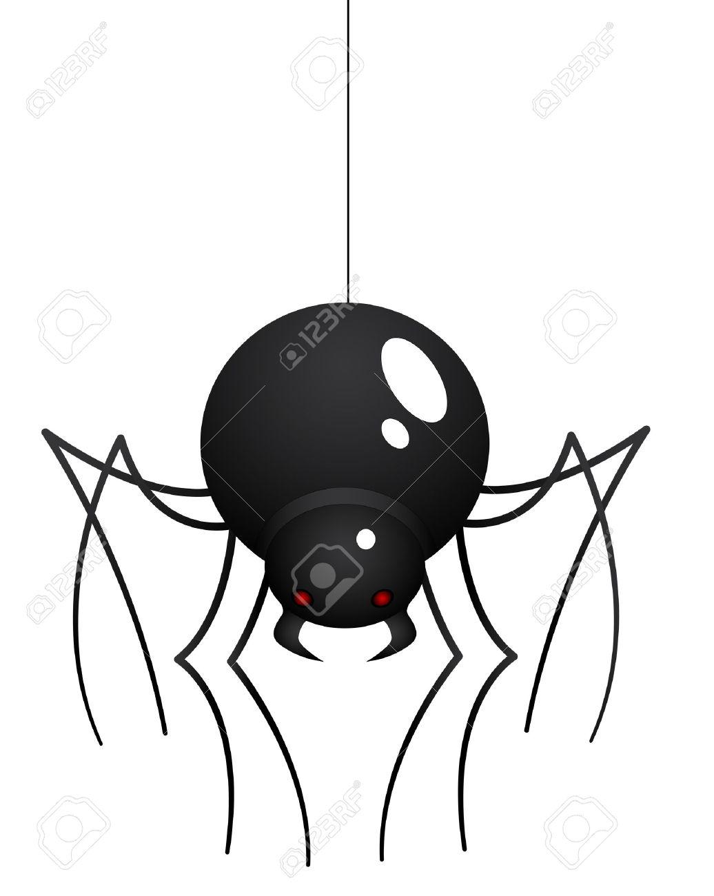 Cartoon Spider Stock Vector - 15759329