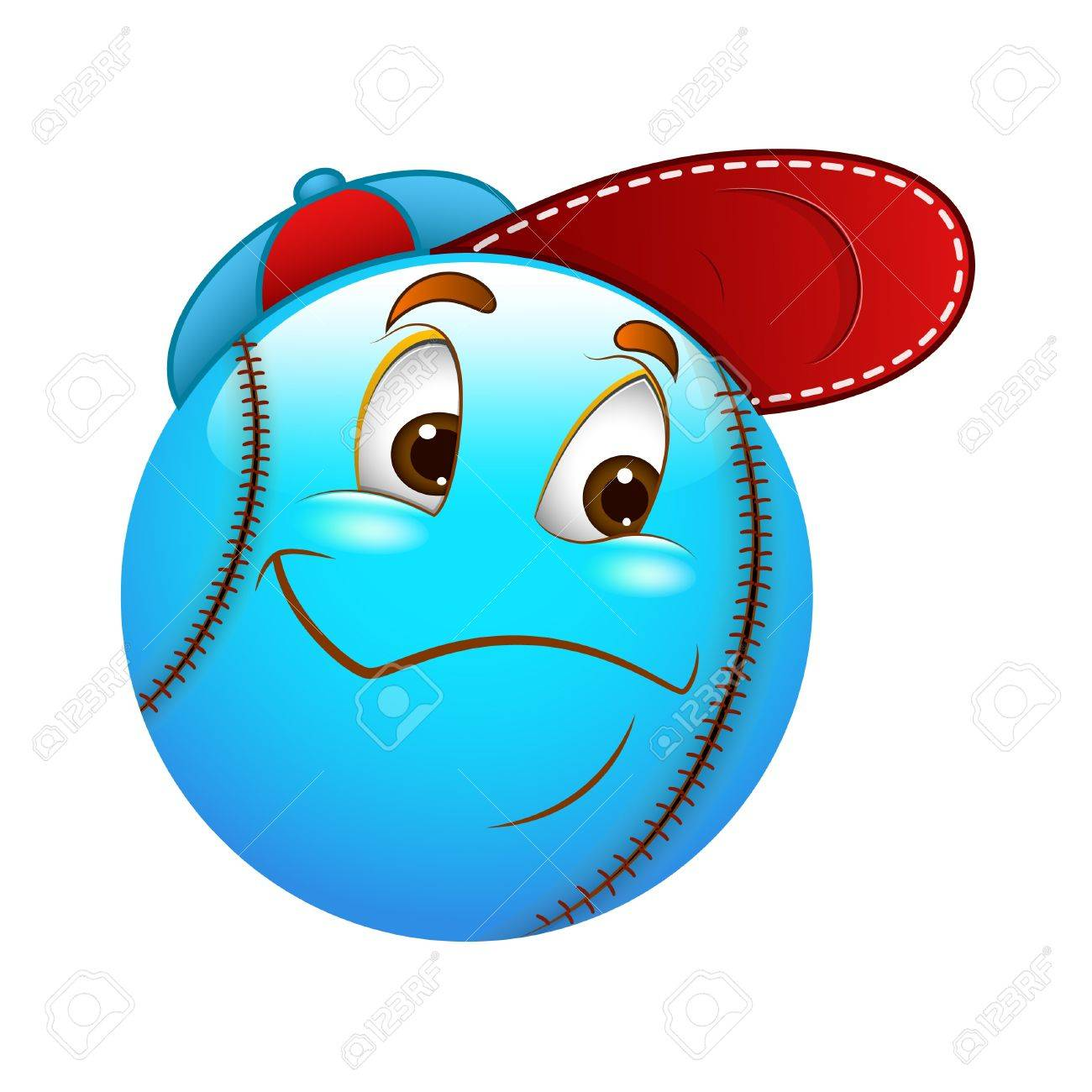 Smiley Emoticons Face Sportsman Stock Vector - 15808773