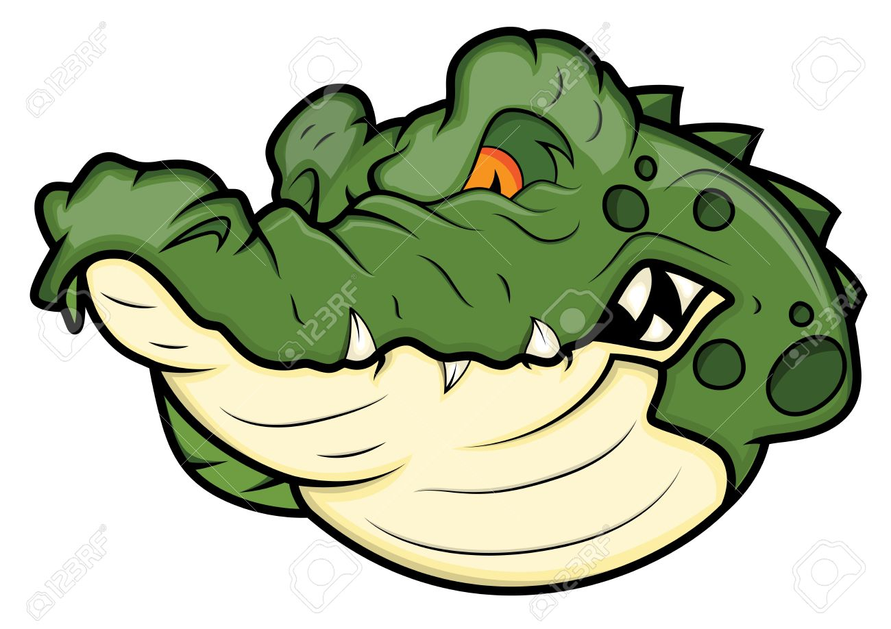 Angry Alligator Vector Mascot Stock Vector - 15808834