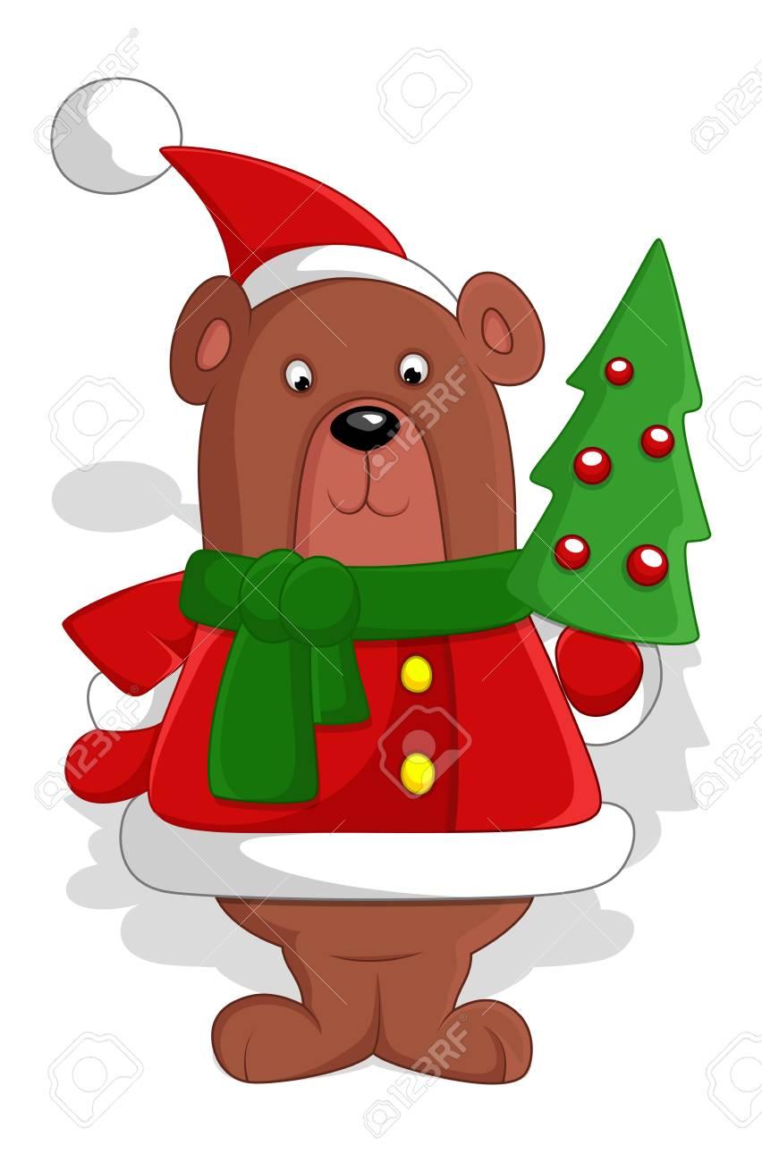 Bear - Christmas Stock Vector - 16832128