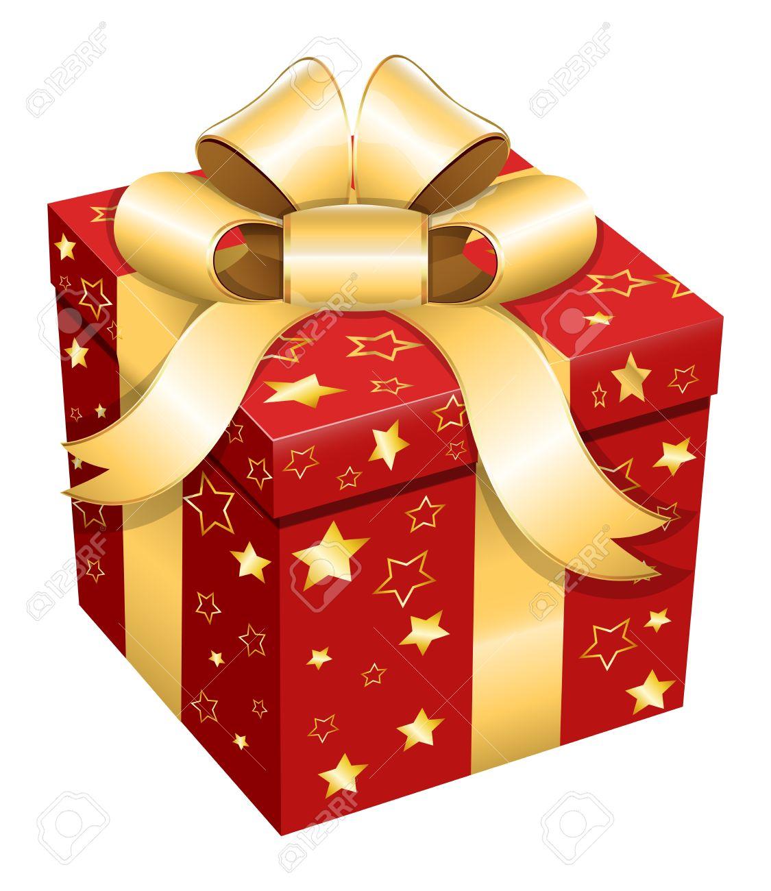 Gift Box - Christmas Illustration Royalty Free Cliparts, Vectors ...