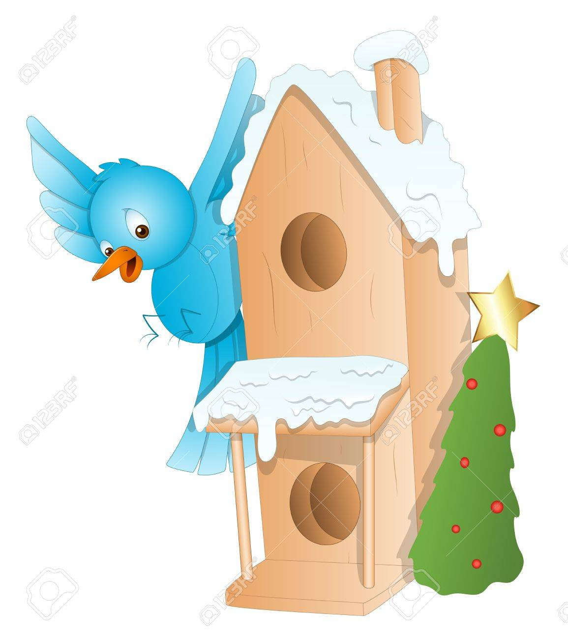 Gingerbread House - Christmas Stock Vector - 16832517