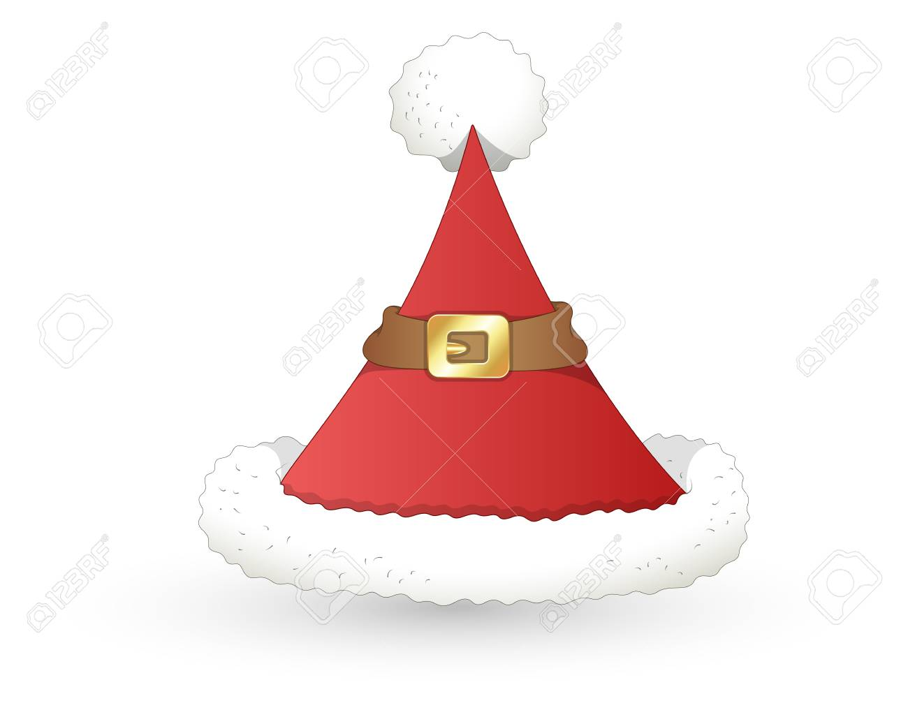Santa Hat - Christmas Stock Vector - 16832516