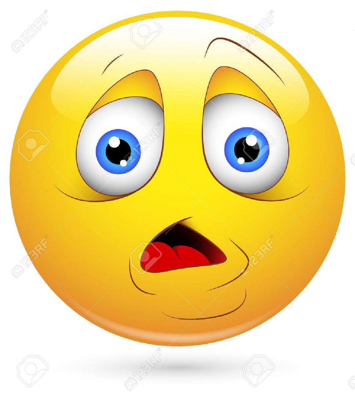 Disappointed Face Clipart Puzzled Face  sad
