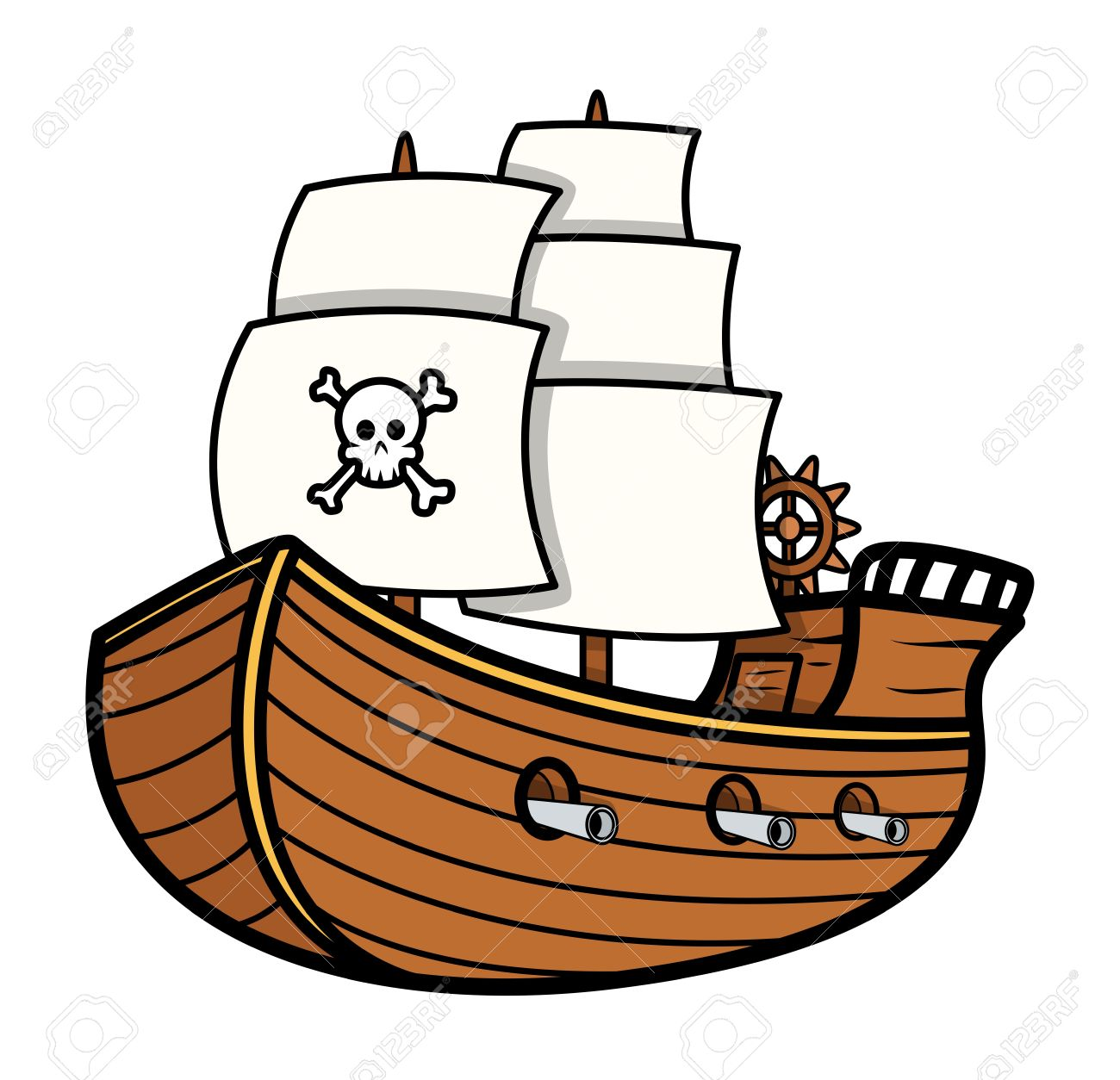 pirate ship vector royalty free cliparts vectors and stock rh 123rf com pirate ship vectorial pirate ship vector clipart