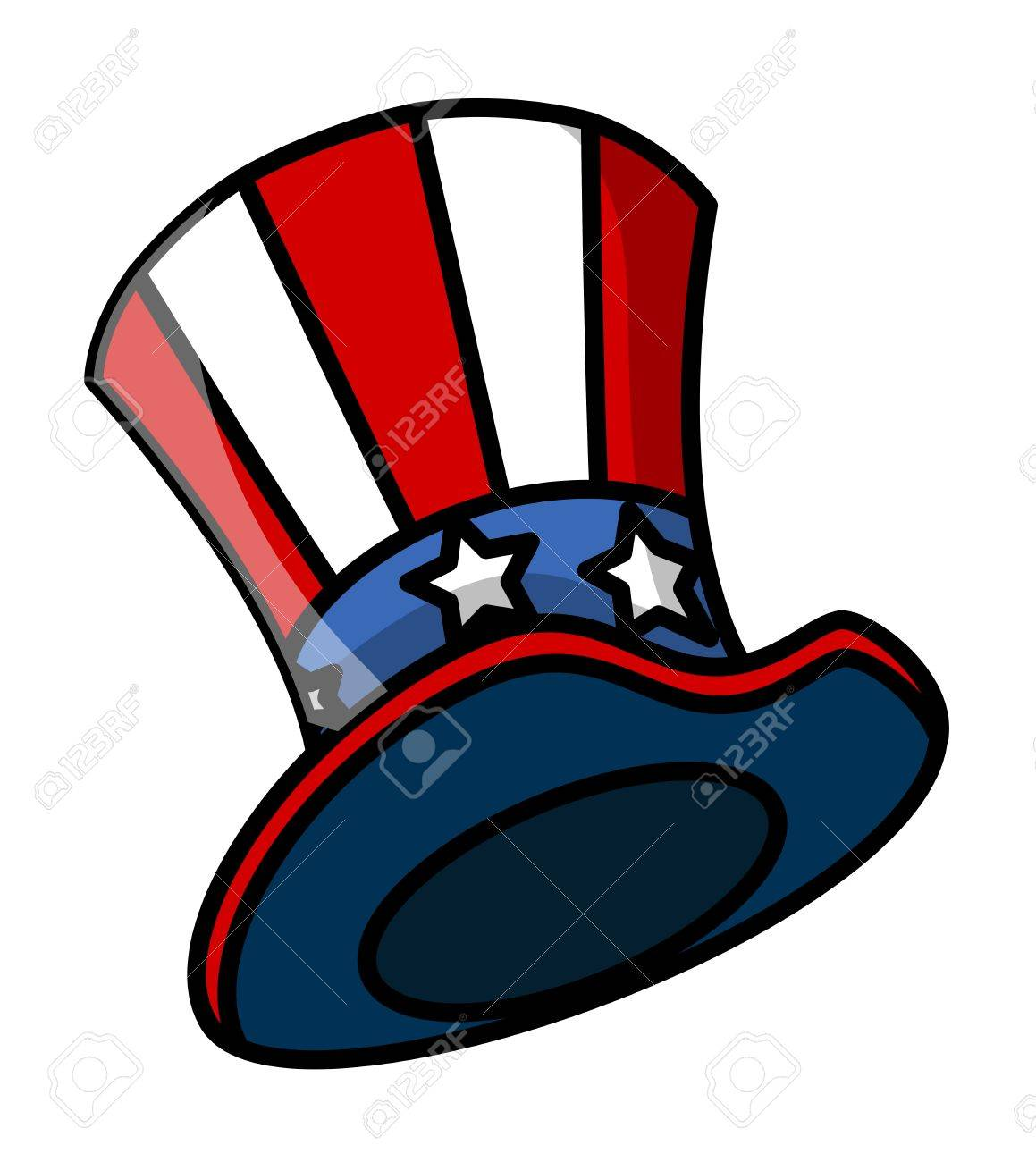 Uncle Sam Hat Vector Royalty Free Cliparts, Vectors, And Stock ...