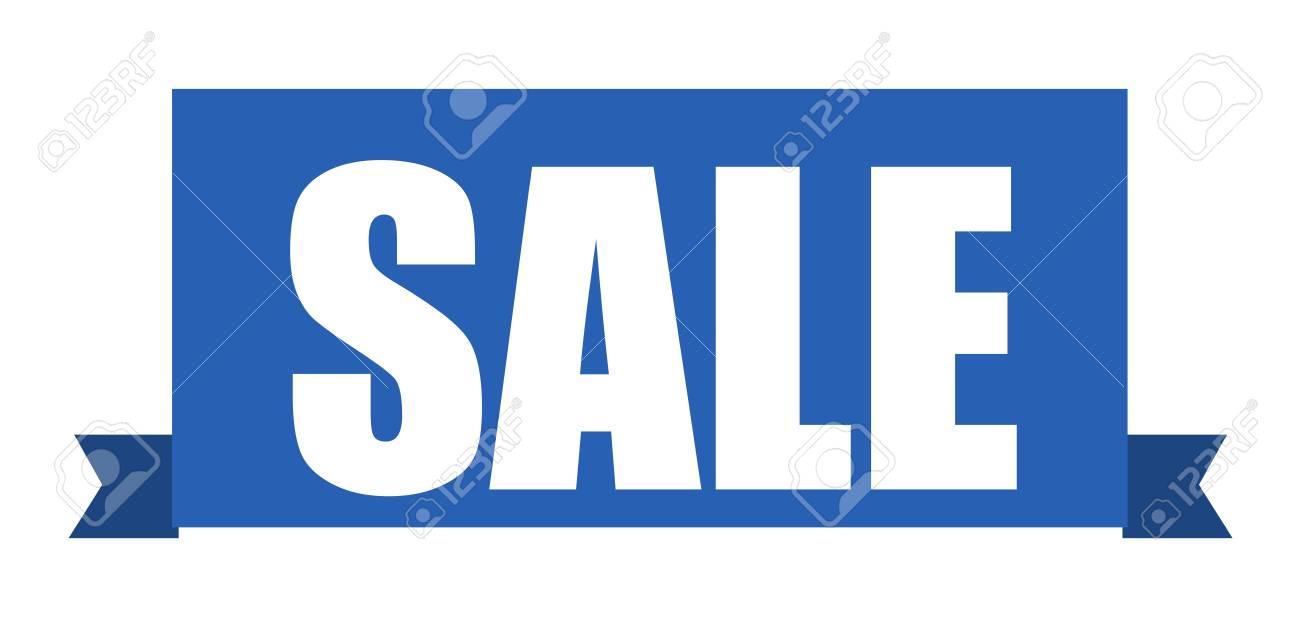 sale ribbon Stock Vector - 21959261