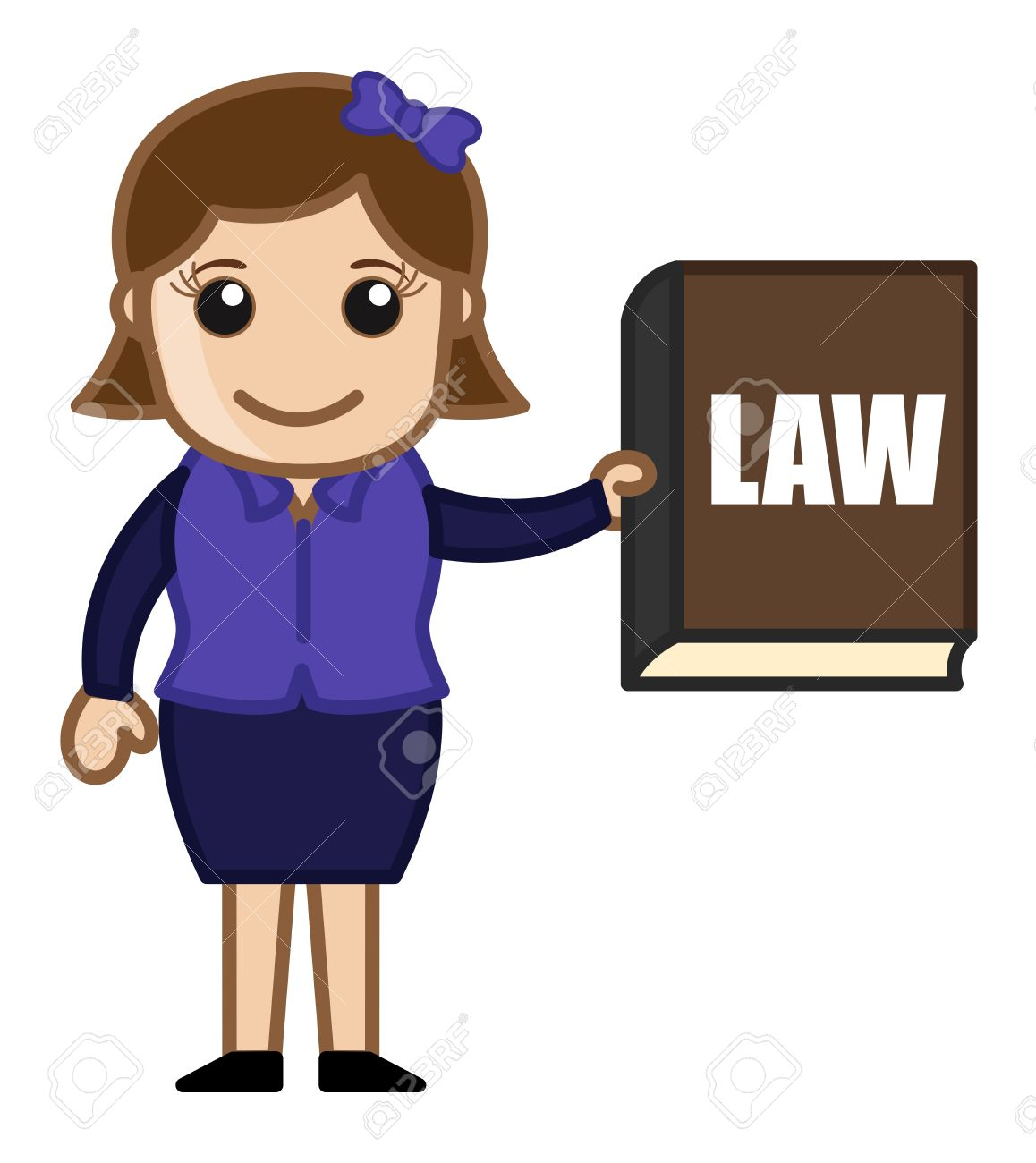 1,959 Female Lawyer Cliparts, Stock Vector And Royalty Free Female ...