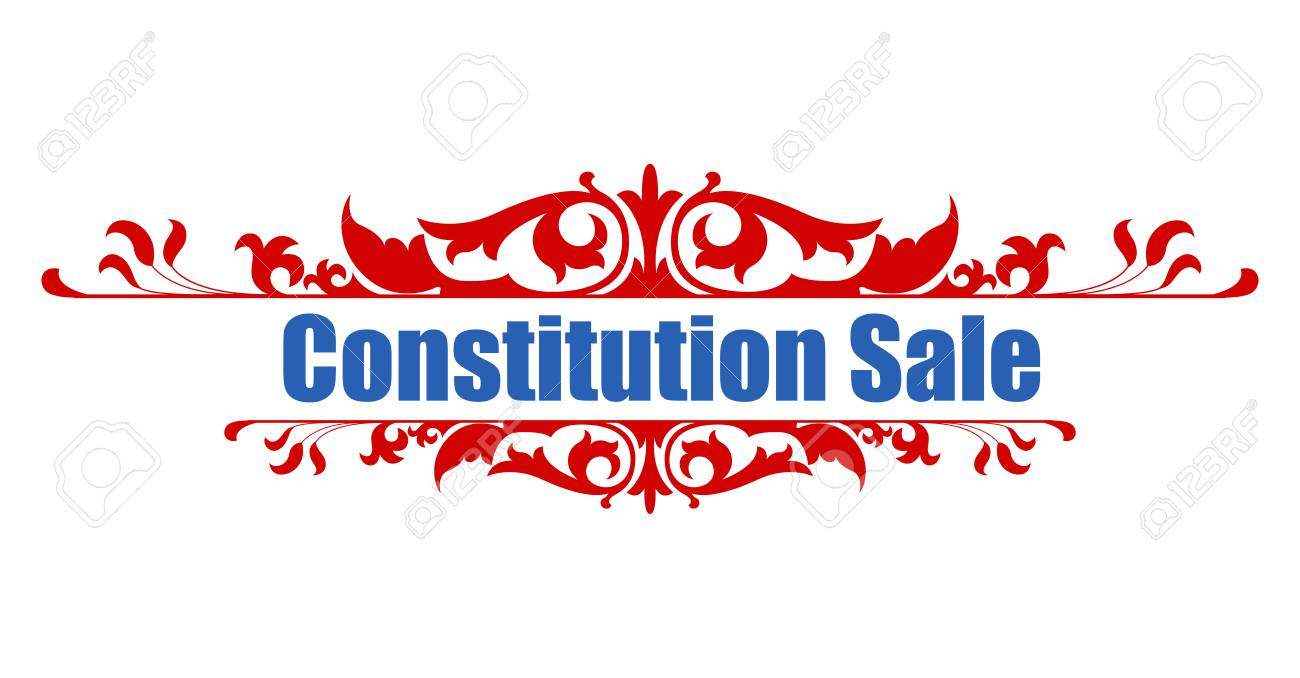 Sale - Constitution Day Vector Illustration Stock Vector - 22318517