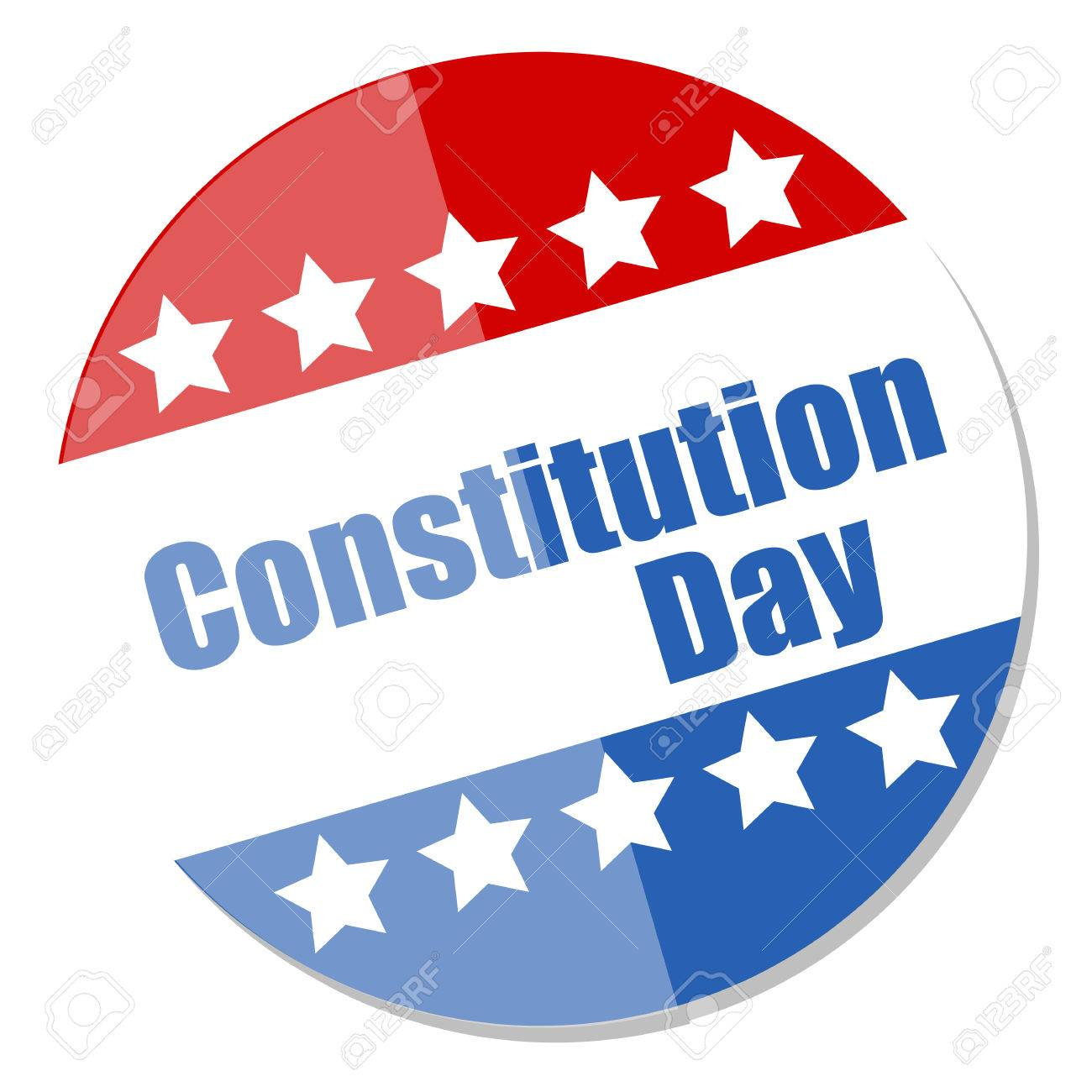 Voting Badge style - Constitution Day Vector Illustration Stock Vector - 22318585