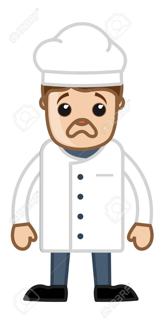 Image result for unhappy chef