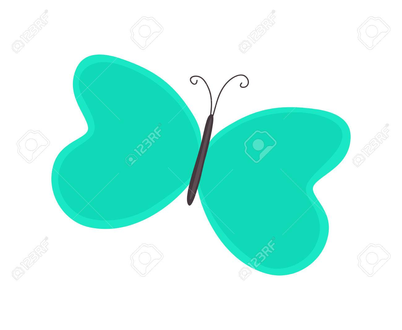 cartoon butterfly clipart royalty free cliparts vectors and stock rh 123rf com Butterfly Driving Car free cartoon butterfly clipart