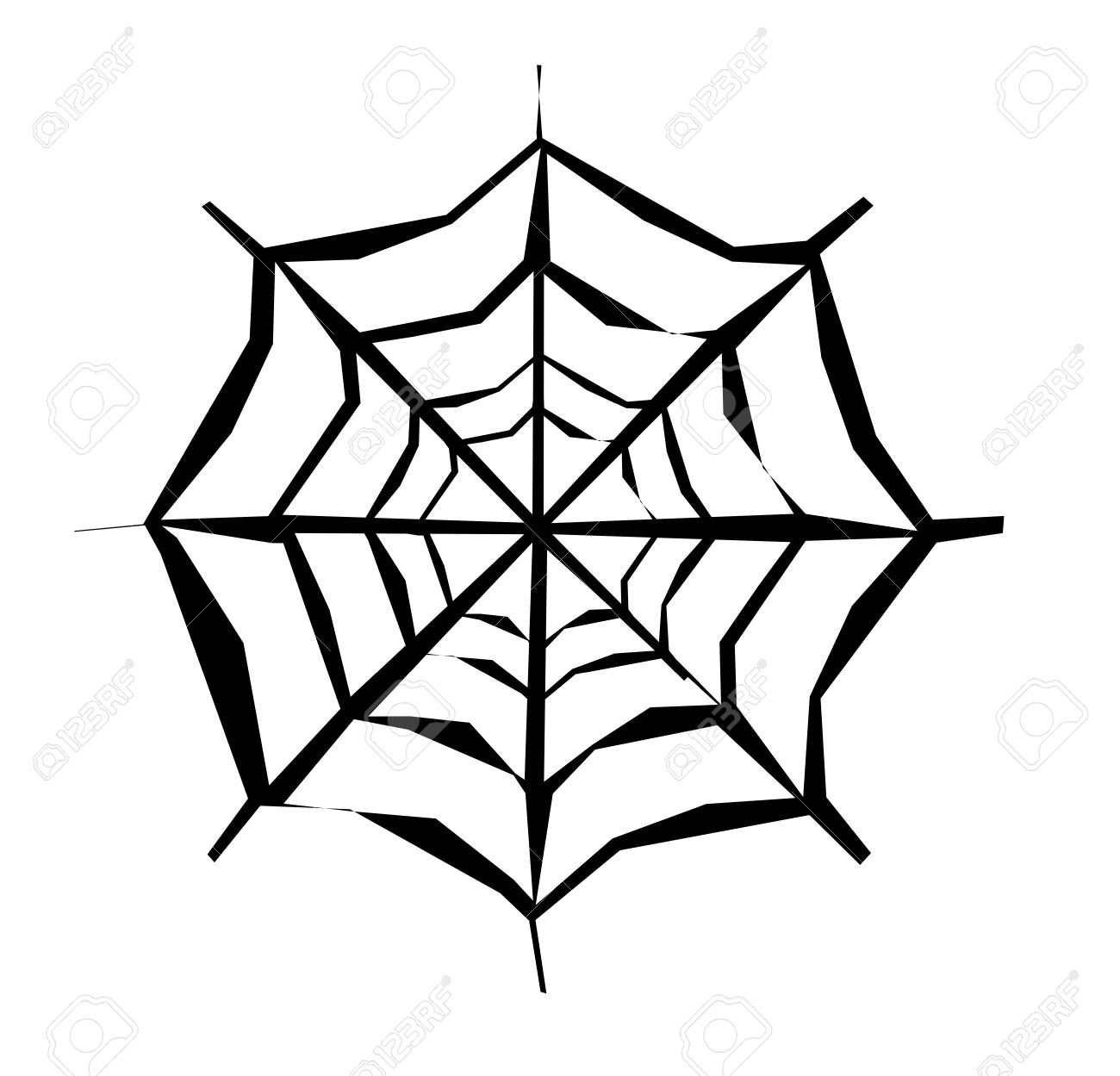 spider web design royalty free cliparts vectors and stock