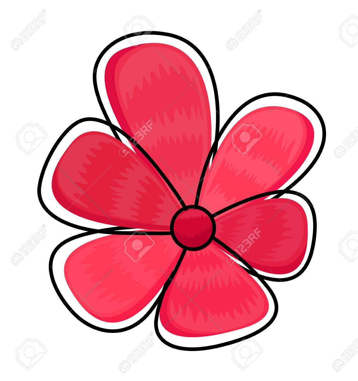 dessin fleur rose clip art libres de droits , vecteurs et