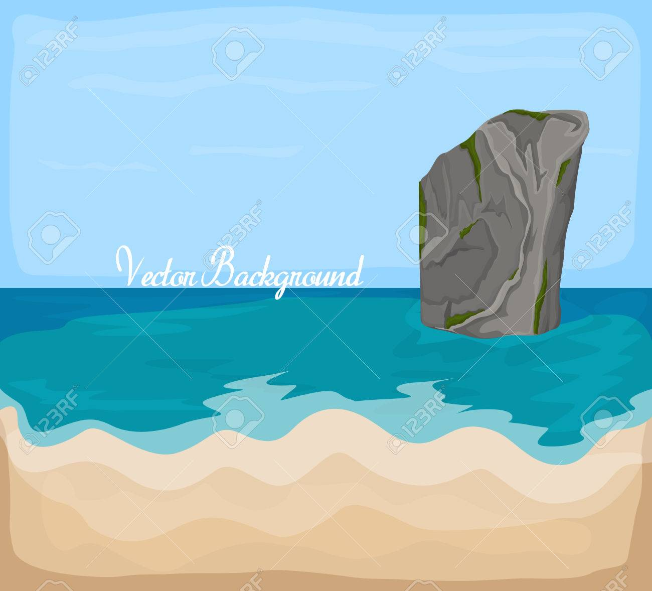 Sea Rock Clip Art