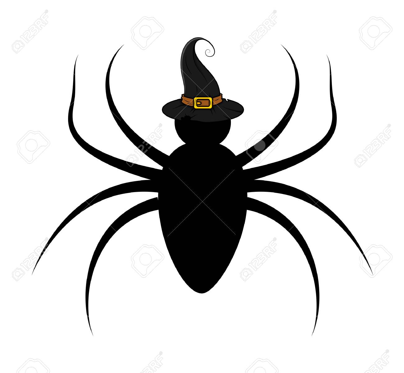 Image Araignée Halloween forme d'araignée de halloween clip art libres de droits , vecteurs