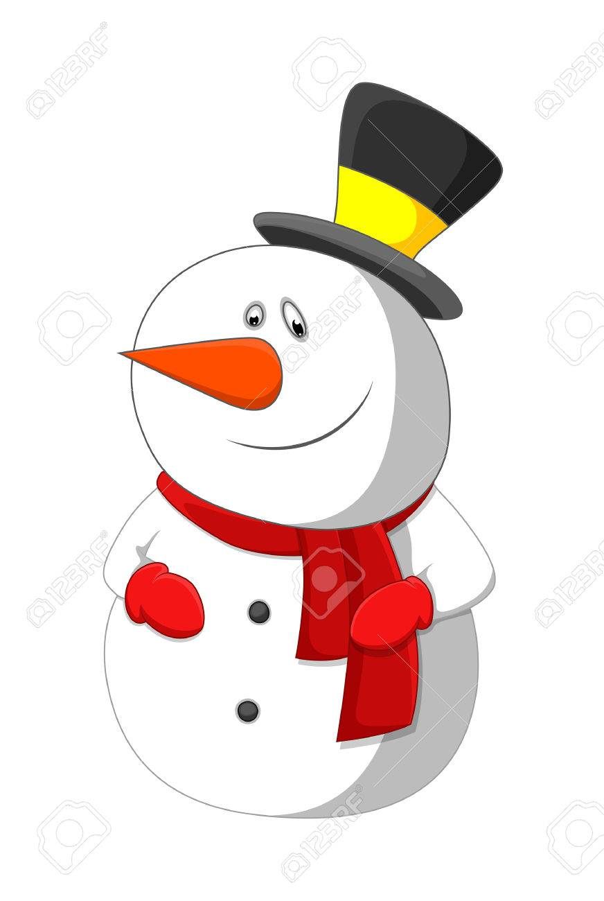 cute snowman vector character royalty free cliparts vectors and rh 123rf com snowman vector free snowman vector free