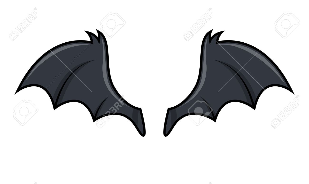 bat wings vector royalty free cliparts vectors and stock rh 123rf com