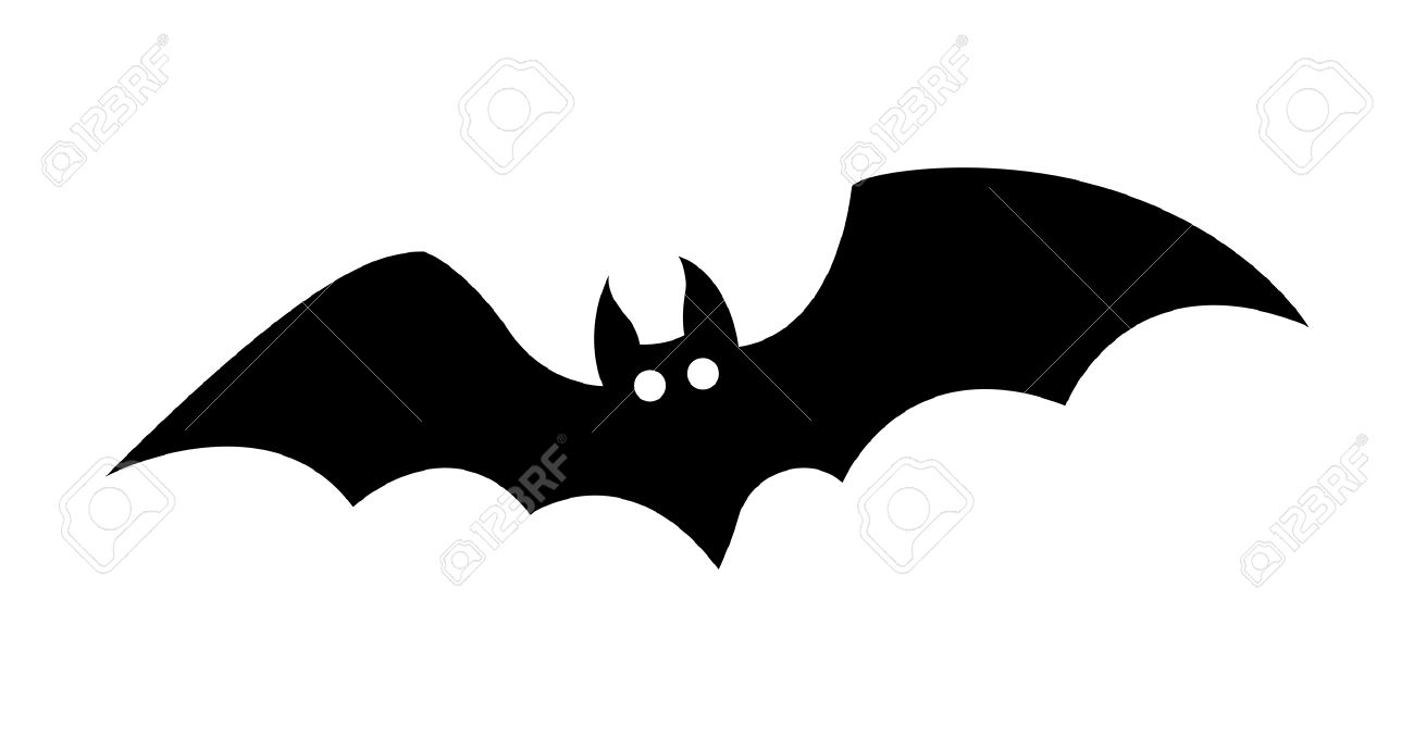 Halloween Bat Vector Shape Royalty Free Cliparts, Vectors, And ...
