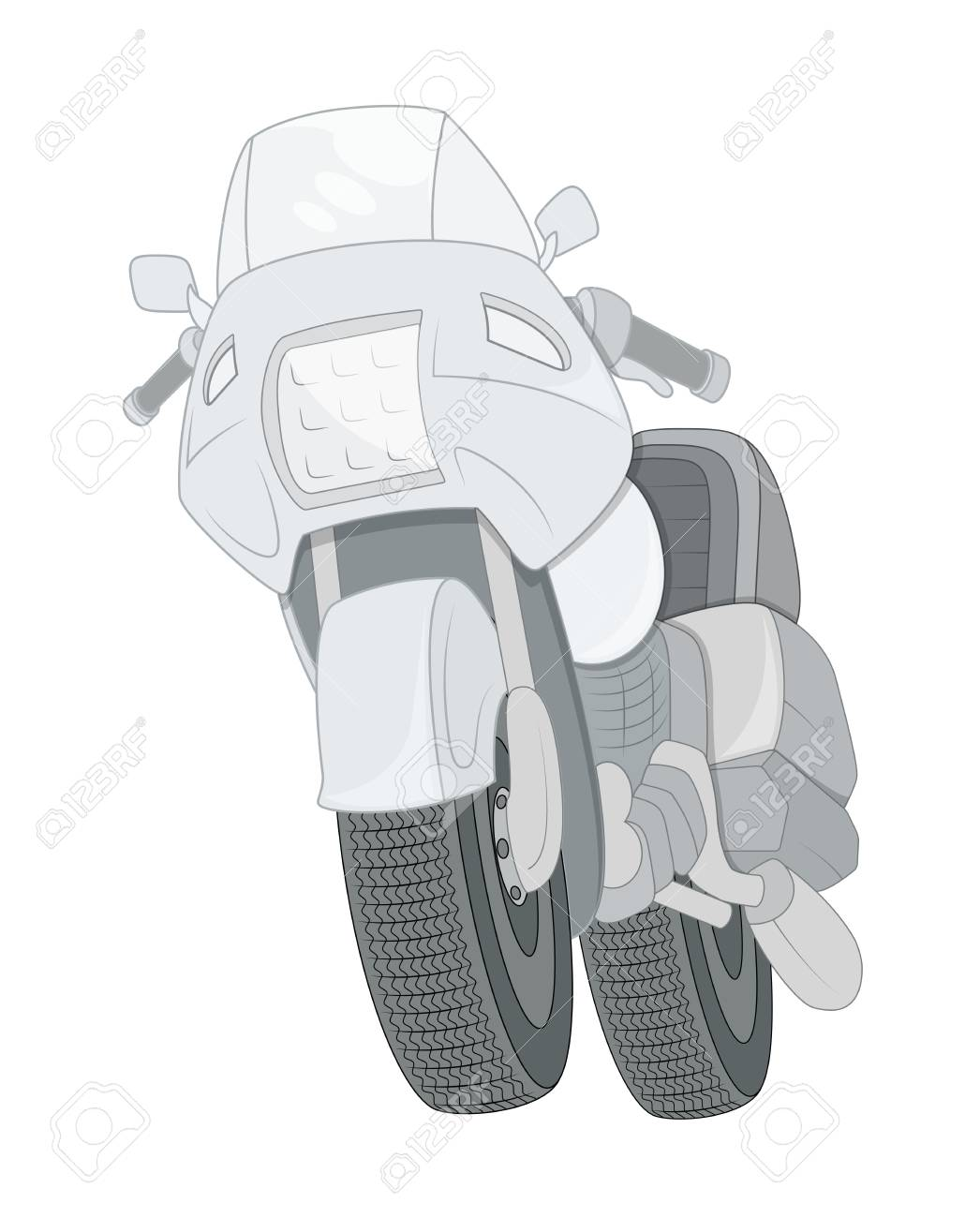 Motorbike Royalty Free Cliparts, Vectors, And Stock Illustration ...