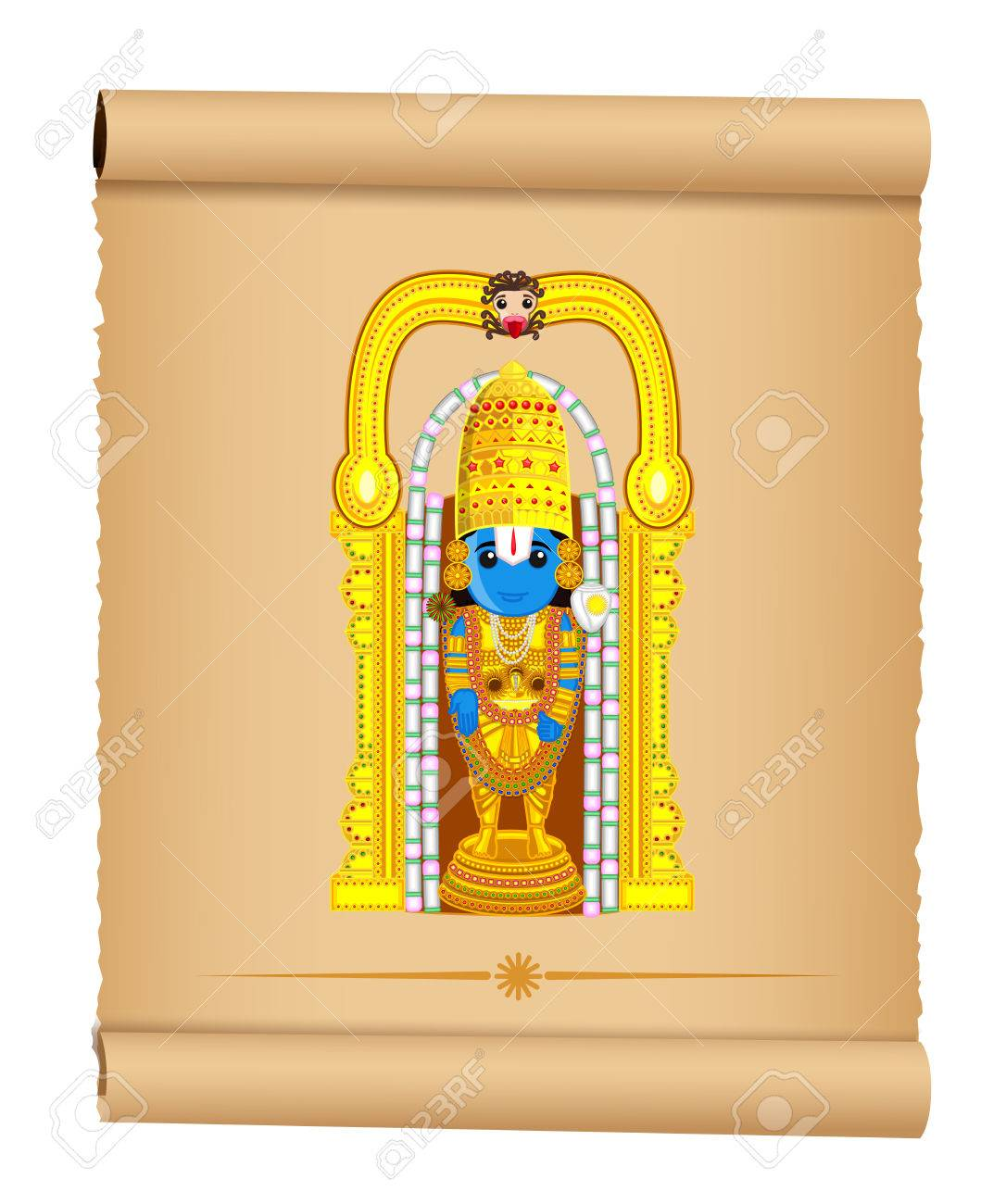 Lord Venkateswara Indian God Royalty Free Cliparts Vectors And Stock Illustration Image 41847375