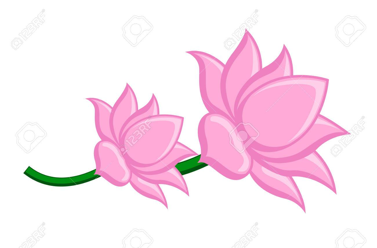 Lotus flowers vector clipart royalty free cliparts vectors and lotus flowers vector clipart stock vector 41847794 izmirmasajfo Images