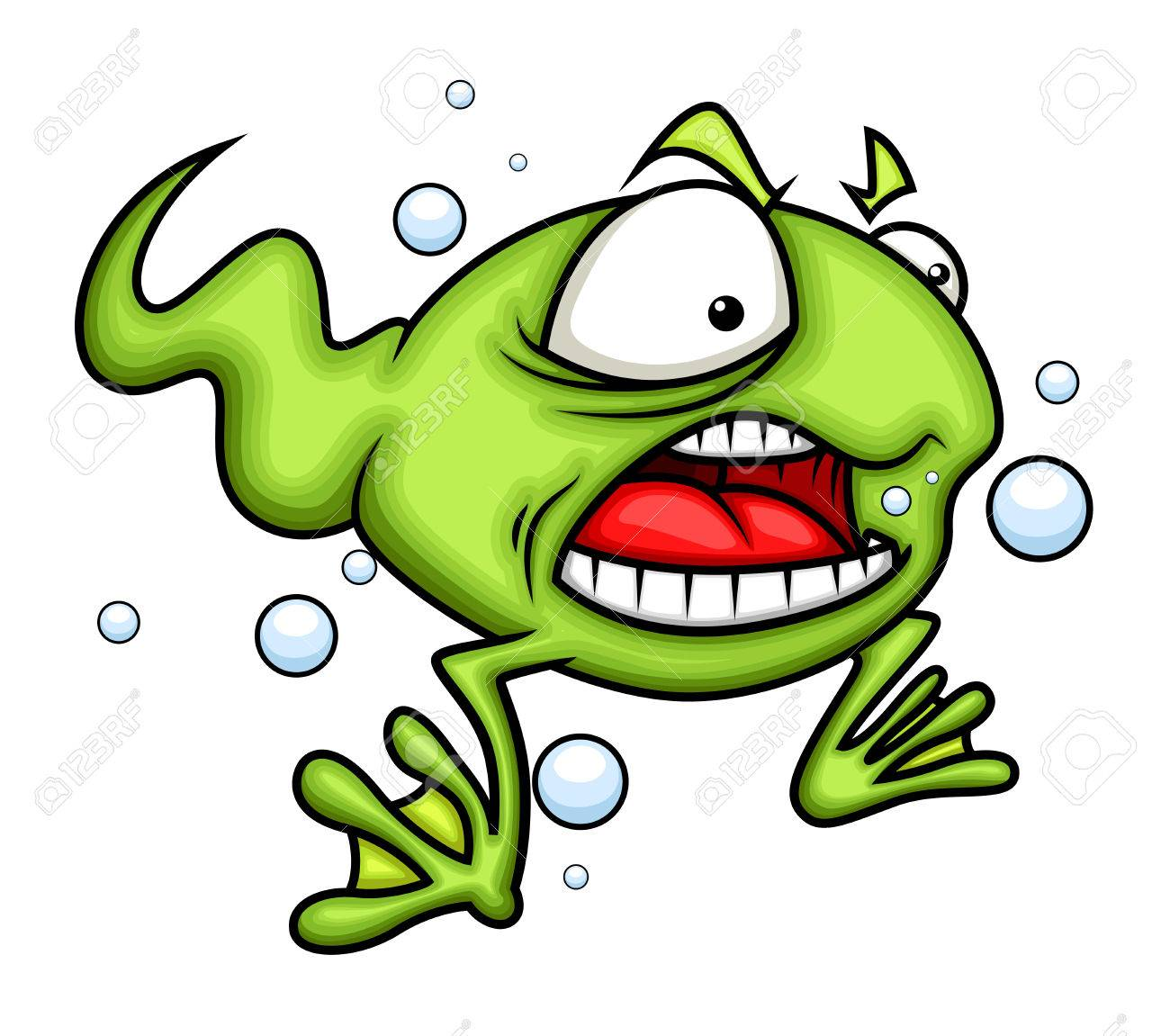 angry cartoon frog royalty free cliparts vectors and stock rh 123rf com Laughing Frog Laughing Frog
