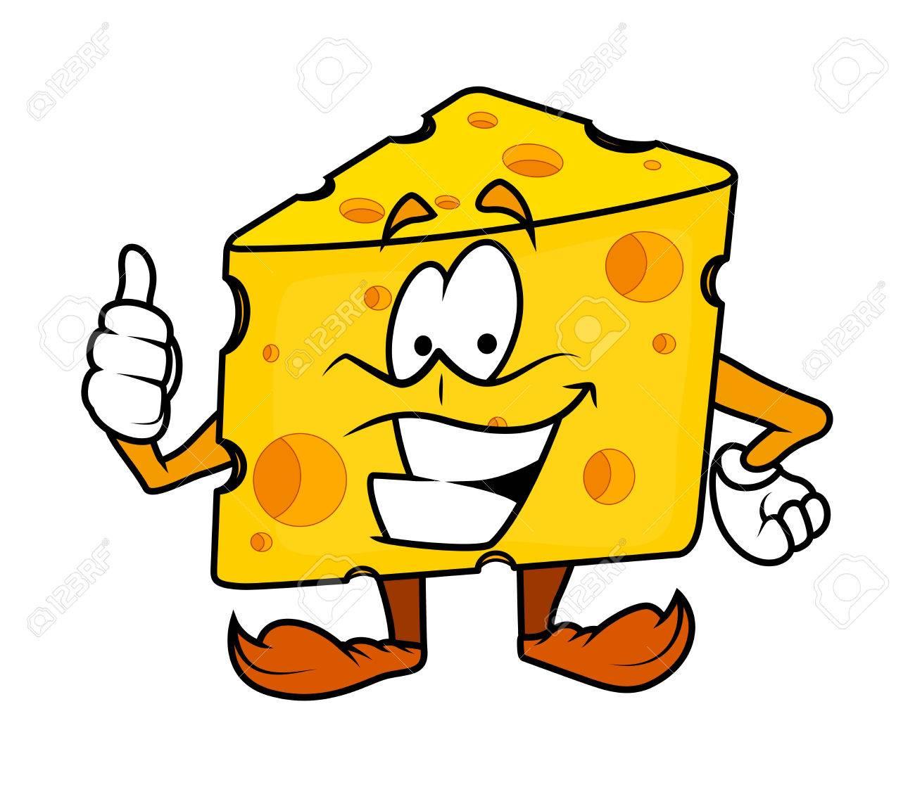 Motivating Cartoon Cheese Vector Royalty Free Cliparts Vectors And Stock Illustration Image 42025659