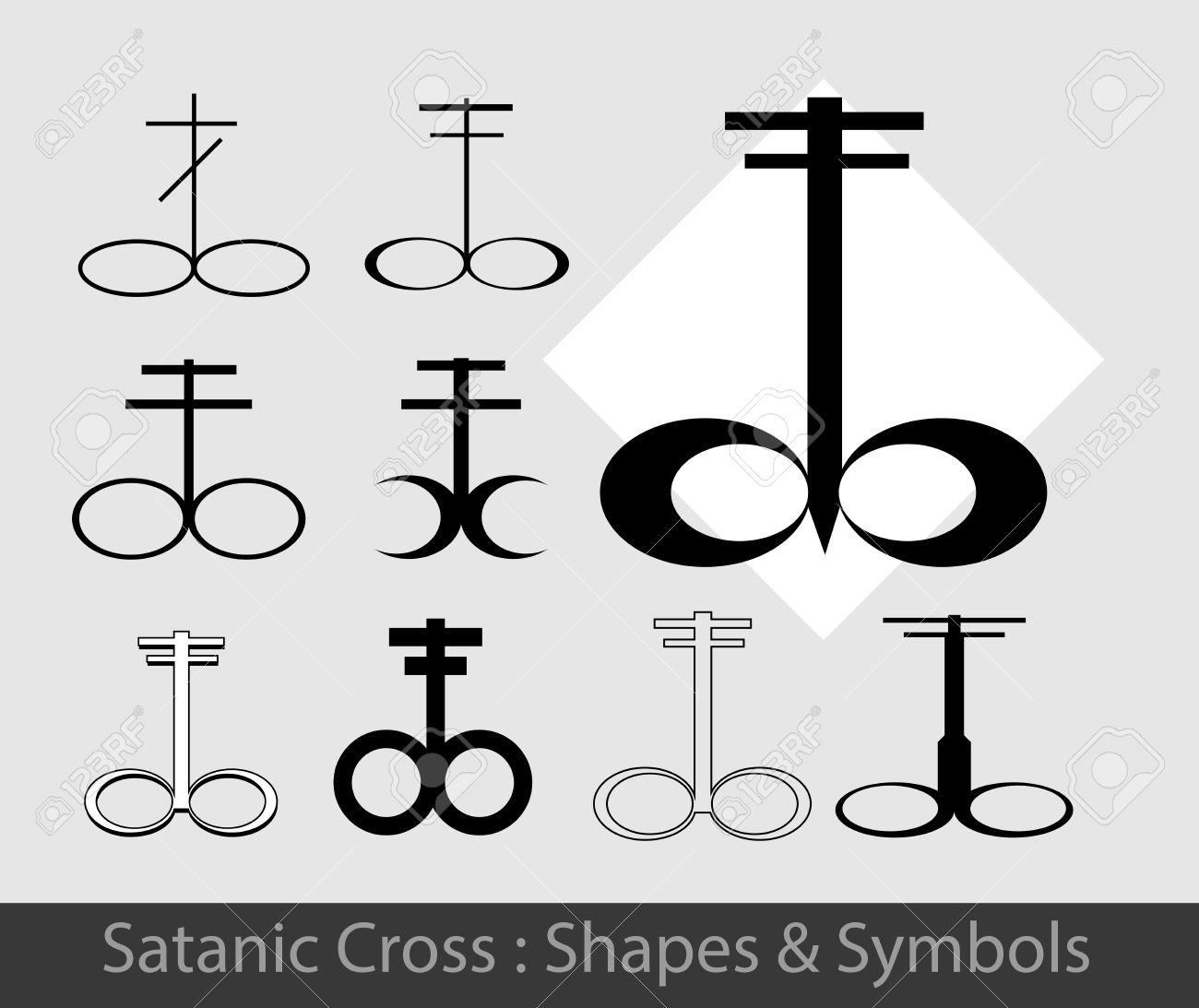 Satanic symbols royalty free cliparts vectors and stock satanic symbols stock vector 57731889 biocorpaavc Choice Image