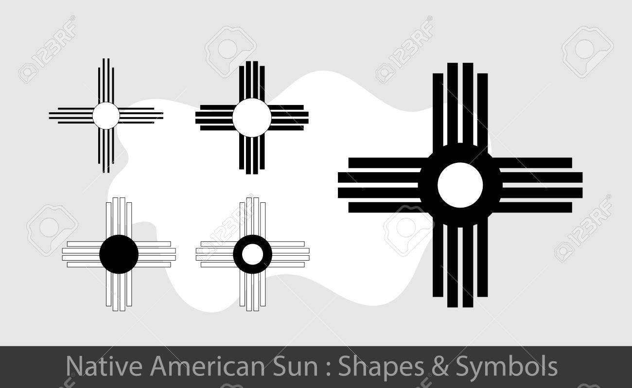 Native Cross Symbol Clipart Library